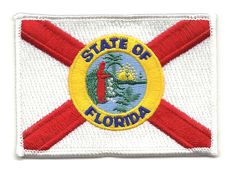 State flags, Florida shown.