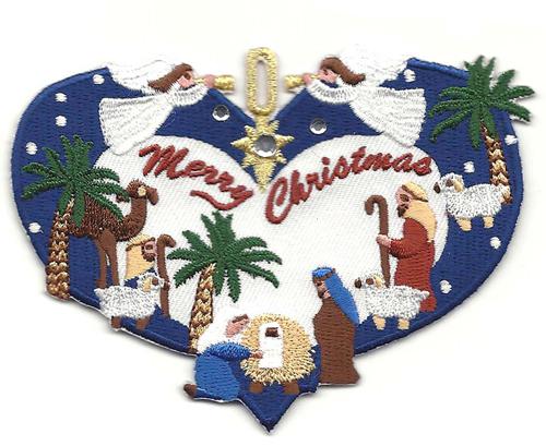 Merry Christmas Nativity Clip Art
